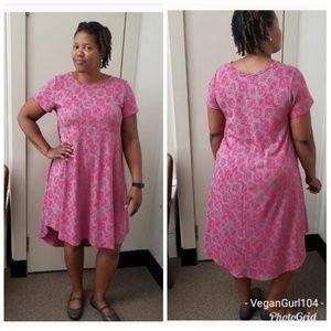 "Lularoe | ""Carly"" High-Low Dress (Size XL)"